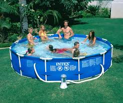 Intex 14 X 42 Upc 078257398188 Intex 12ft X 30in Round Frame Pool Package