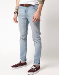 American Flag Skinny Jeans Lyst Cheap Monday Tight Skinny Jeans In Blue For Men