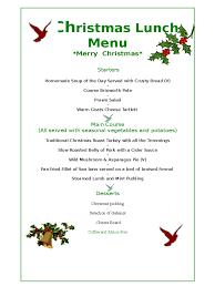 free editable christmas menu templates u2013 fun for christmas