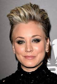 why did kaley christine cuoco sweeting cut her hair kaley cuoco sweeting s hair makeup at people awards how to