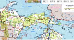 Usa Highway Map Highway And Road Michiganfree Maps Of Us