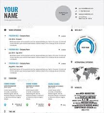 infographic resume professionally designed infographic resume template indd format