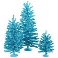 Mini Decorated Christmas Trees Set Of 3 Mini Christmas Trees Wayfair