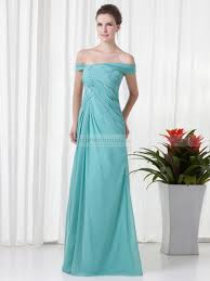 clotilda off the shoulder sheath prom dress with side drape and