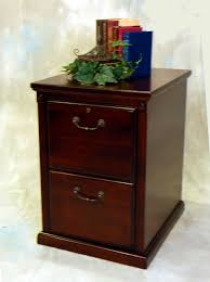 cherry wood file cabinet office table