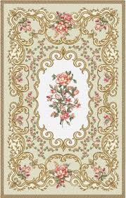 7 X 11 Area Rugs Modern Aubusson Rug 44693 Detail Large View By Nazmiyal для