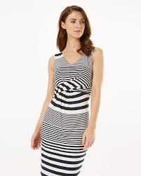 phase eight sadie stripe dress in blue lyst