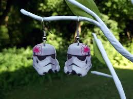 wars earrings wars stormtrooper earrings pic global news