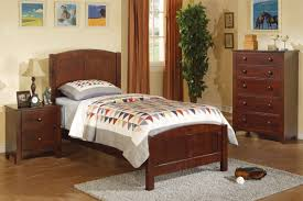 Dark Oak Furniture Twin Bed Set Dark Oak Huntington Beach Furniture