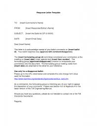 Template For Letter Of Appeal Letter Of Inquiry And Reply Example