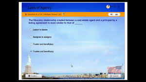 real estate license practice exam 1 laws of agency free