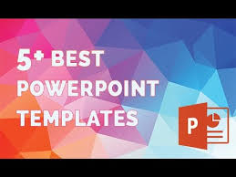 best powerpoint templates the 5 best presentation template youtube