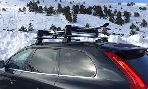porta sci auto porta sci o snowboard da auto groupon goods