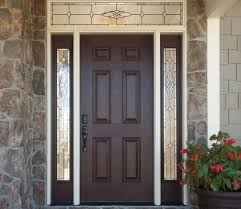 Exterior Door Sweeps by Exterior Design Brown Wooden Pella Doors For Door Ideas