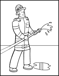 fire fighting coloring photo gallery website firefighter coloring