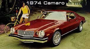 74 camaro z28 chevrolet camaro history 1967 present