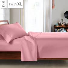 Extra Long Twin Bed Sheets Clara Clark College Dorm Room 3pc Bed Sheet Set Twin Extra Long