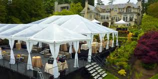 backyard tent rental wedding and event rentals in seattle cort party rental