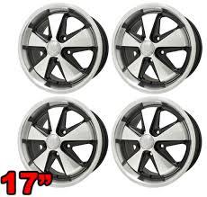 porsche 911 fuchs replica wheels porsche 911 fuchs replica wheel matte black w matte silver 17 x