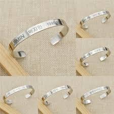 titanium steel bracelet images Bts titanium steel bracelet daebak 21 jpg