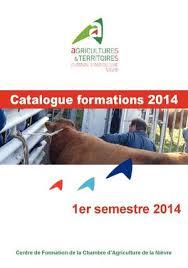 chambre d agriculture de la nievre calaméo catalogue formations 2014