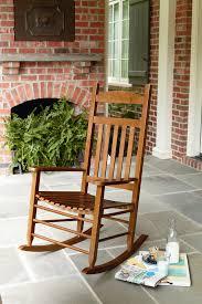 Indoor Outdoor Rocking Chair Garden Oasis Porch Rocker Natural
