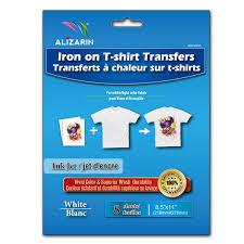 inkjet light iron on transfer paper 8 sheets pack inkjet light