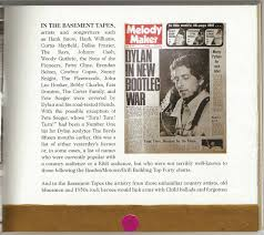just backdated bob dylan u0026 the band the basement tapes