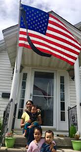 Porch Flags Flags To Half Staff Love Will End Abortion