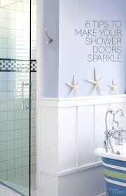 Cleaning Soap Scum From Glass Shower Doors How To Clean Shower Doors Better Homes Gardens