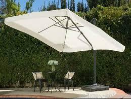 Patio Umbrella Canopy Large Patio Umbrella Cantilever Outdoor Backyard Deck Canopies