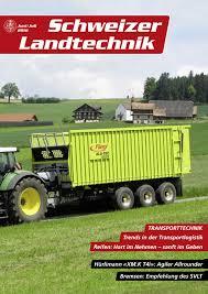 K Hen Schweiz Schweizer Landtechnik 04 2016 By Schweizerischer Verband Für