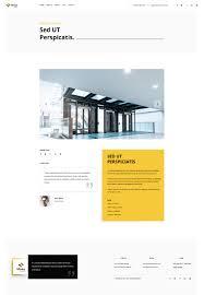 moonlight architecture decor u0026 interior design psd template by