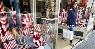 shoppers out seeking deals though sales crept earlier new