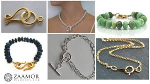 clasp necklace types images Know the different types of necklace and bracelet clasps zaamor jpg
