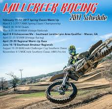 ama motocross schedule millcreek racing 2017 schedule