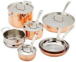 amazon com cuisinart ctp 11am copper tri ply stainless steel 11