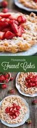 funnel cakes recipe sugaring cake and food
