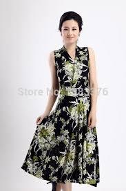 elderly women dresses dresses 2016 elderly women silk dress put add fertilizer