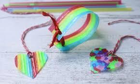 melted plastic straw jewellery craft kidspot