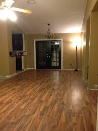 Laminate Floor Cheap Laminate Floor Dark Doors And Trim Along With Brown Walls Classy