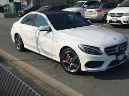 mercedes white w205 sport trim black or white mbworld org forums