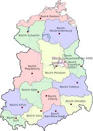 East Germany Map by East Germany