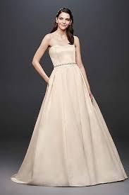 gold dress wedding gold wedding dresses gowns david s bridal