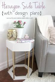 modern side tables for bedroom the 25 best hexagon sides ideas on pinterest side tables
