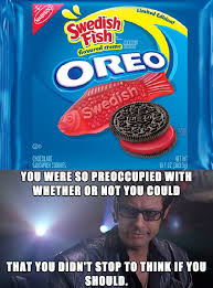 Oreo Memes - swedish fish oreos beheading boredom