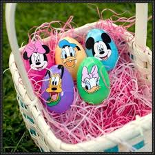 Mickey Mouse Easter Eggs Mickey Mouse Friends Easter Egg Stickers Free Papercrafts