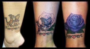 rose coverup by ricky borchert tattoonow