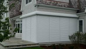 Hurricane Awnings Roll Down Hurricane Shutters Shade And Shutter Systems Inc