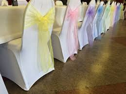 yellow chair covers best 25 white chair covers ideas on wedding chair